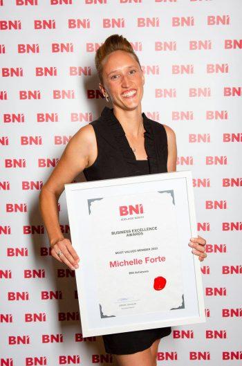 Michelle Forte - BNI Awards Night 2021 1